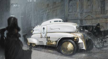 admiral car by Asahisuperdry