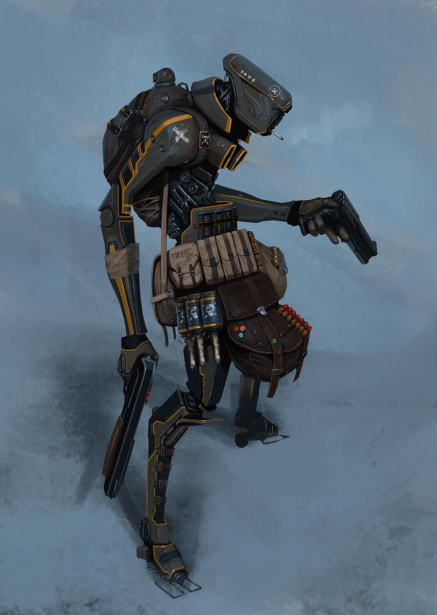 bounty hunter bot by Asahisuperdry