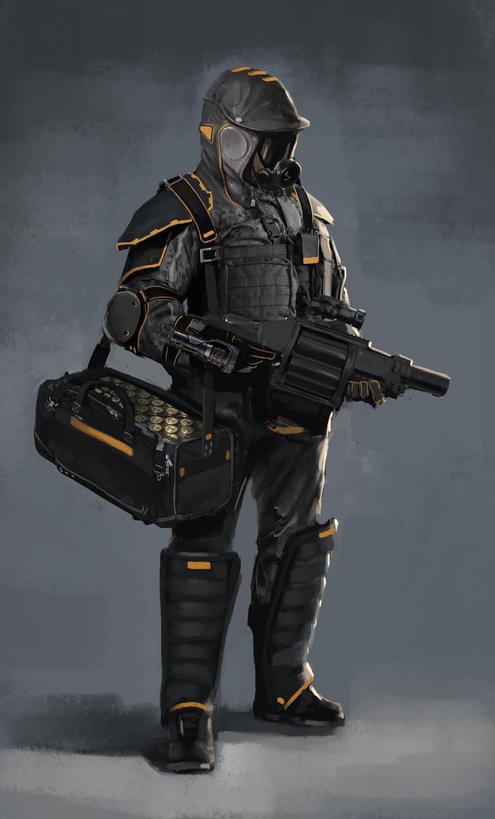 grenadier quicky by Asahisuperdry