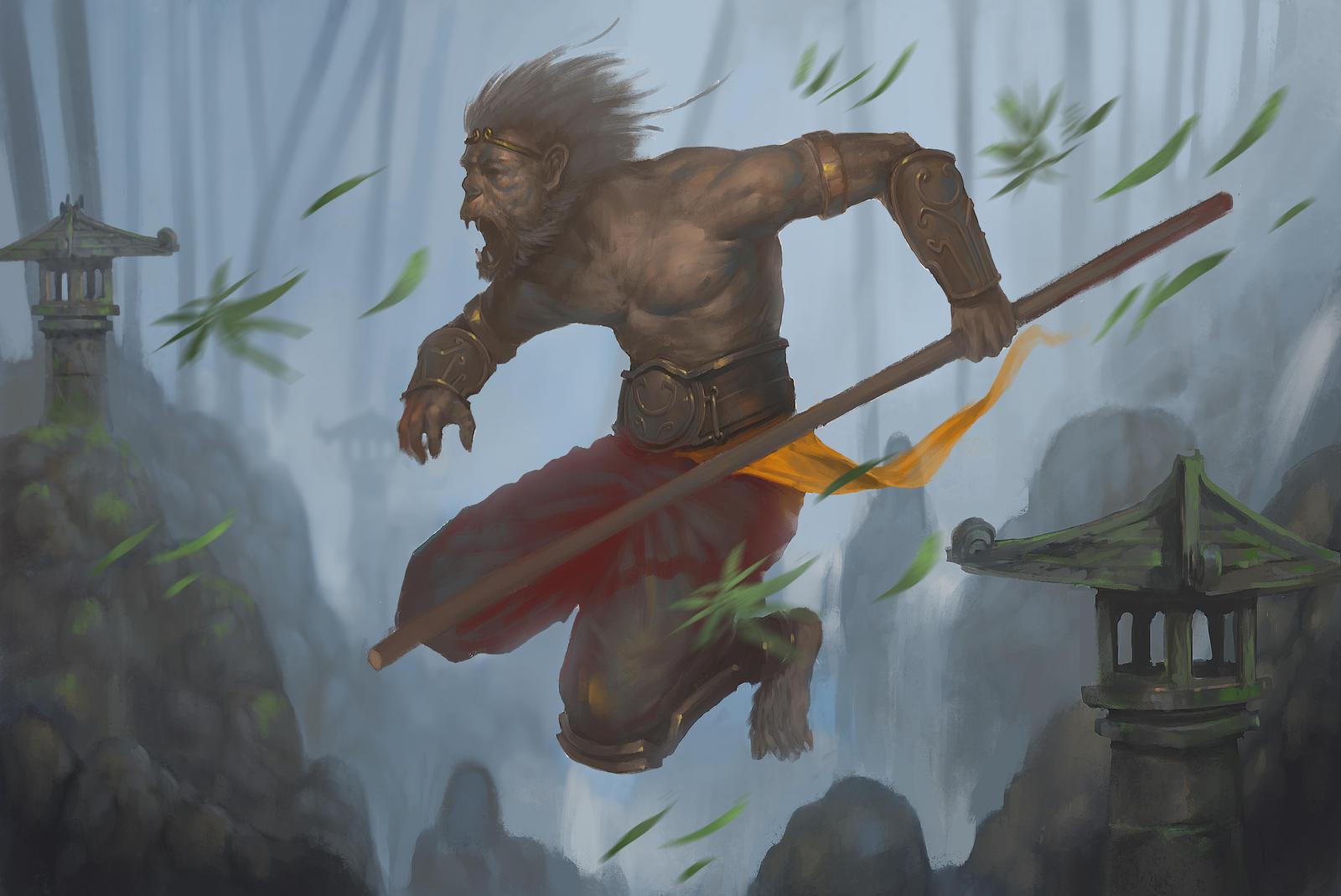 Image result for fantasy monkey people