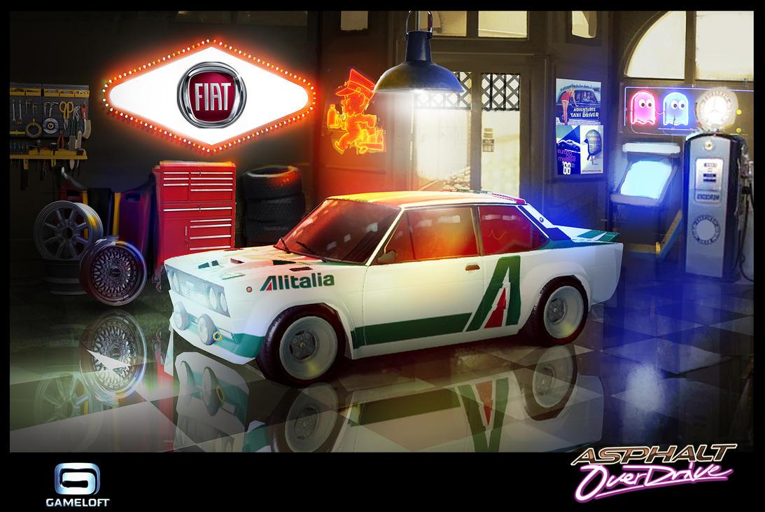 Asphalt Overdrive : Garage by Asahisuperdry