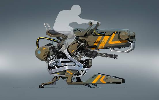 concept hover bike