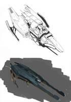 Ships Sketch by Asahisuperdry