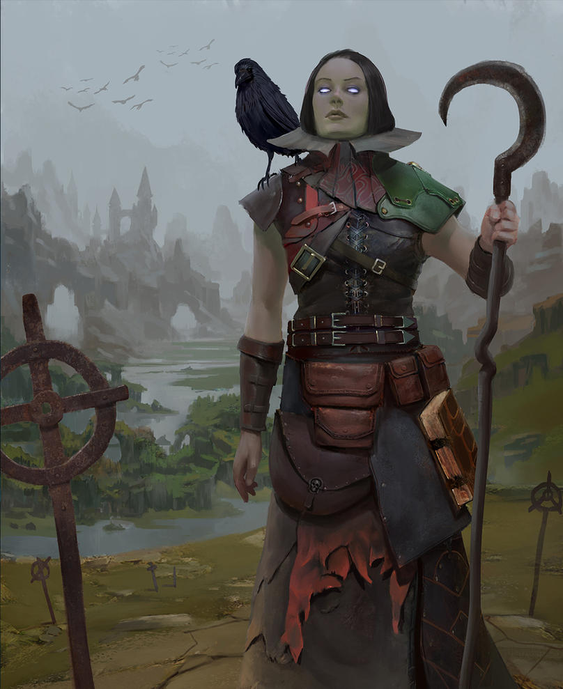 Necrotic cleric ( hex entertainment ) by Asahisuperdry