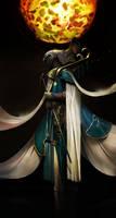 Ra the sun god by Asahisuperdry