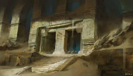Kahel - The House of the Sands by Asahisuperdry
