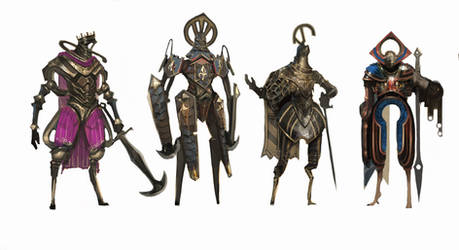weird knights #1