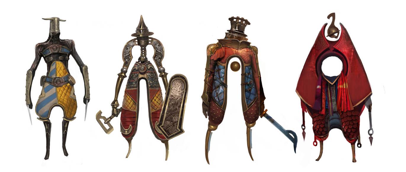 weird knights #2 by Asahisuperdry