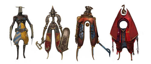weird knights #2