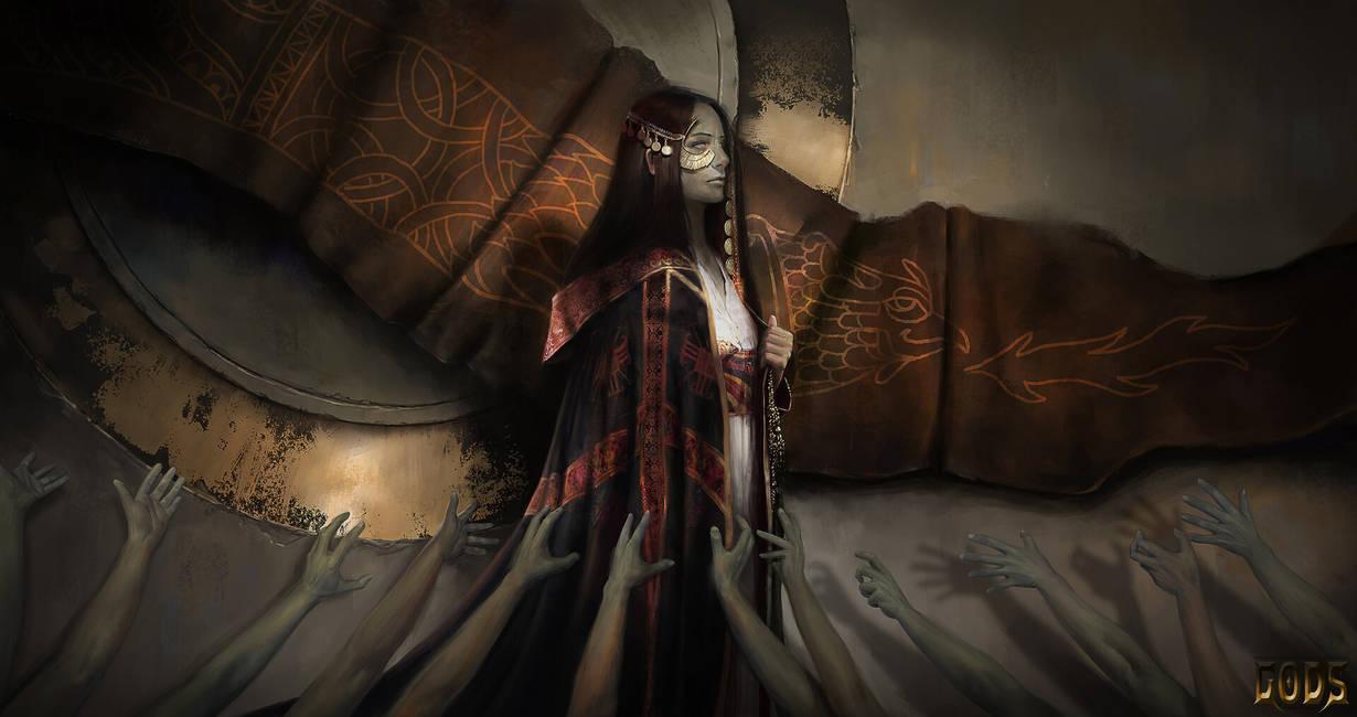 Priestess of Ankur by Asahisuperdry