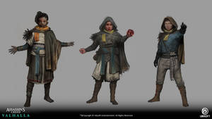 Assassin's creed: Valhalla -Reda and kids-