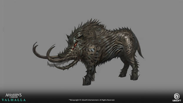 Assassin's creed: Valhalla -Iron boar1-
