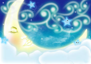 Moon Goddess by yuisa