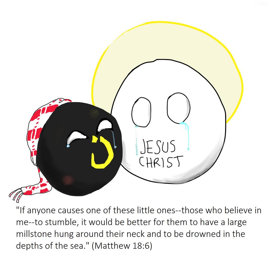 Matthew 18:6 by SandovART