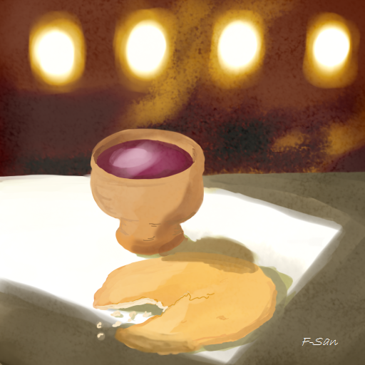 Lord's Supper by SandovART