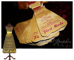 First Mode Business Card by sweeta18