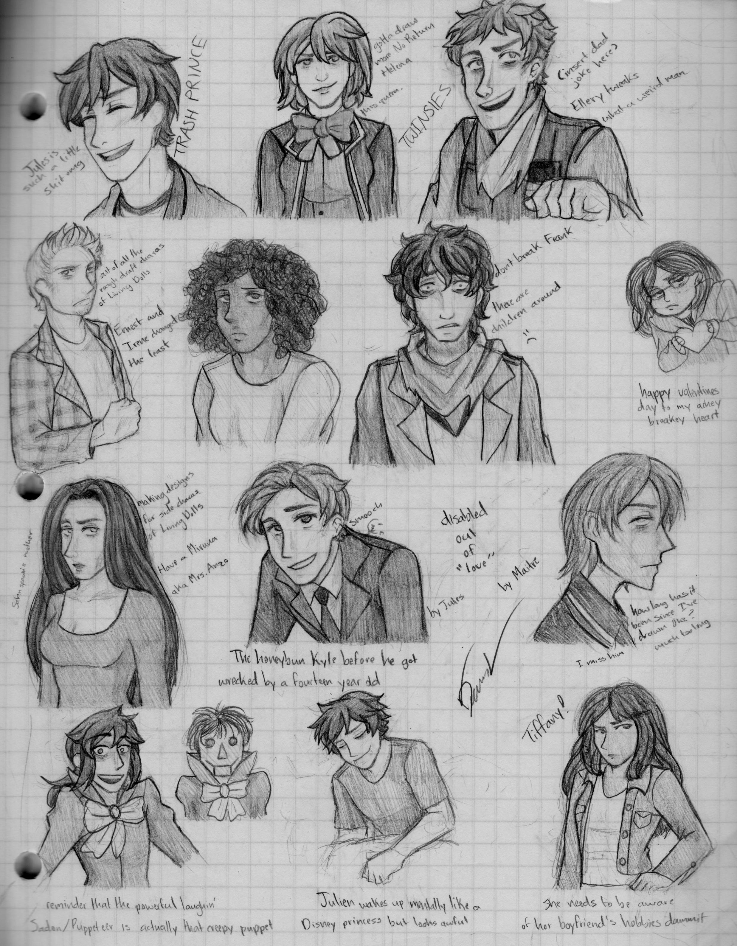 Sketch Dump 41 by DonnyAnne