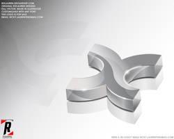 Logo 16 - 3D X by rixlauren