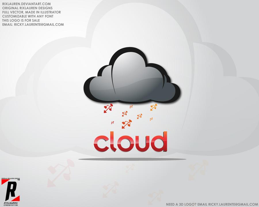 Logo 22 - Cloud Software logo by rixlauren on DeviantArt