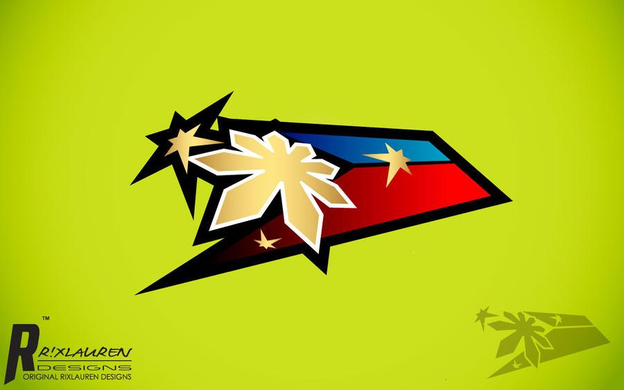 Philippine Flag Logo V2 By Rixlauren