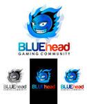 BLUEhead Gaming Logo