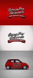 Garage Pro Autoworks Logo 3 by rixlauren