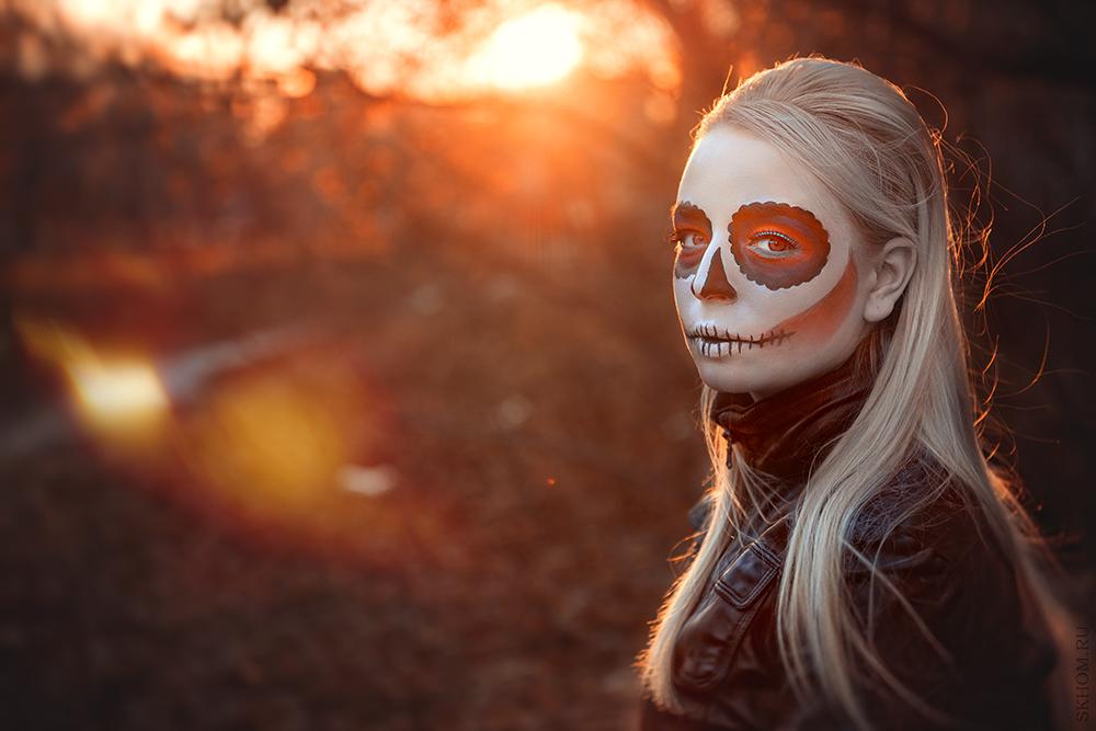 Sweet skull by FuckingNya