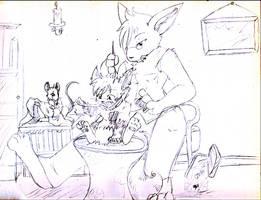 -Mending- Basic sketch by Ittermat