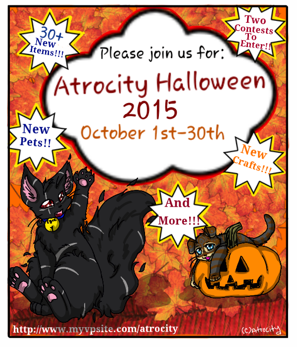 Atrocity Halloween Event! (see comment) by Ittermat