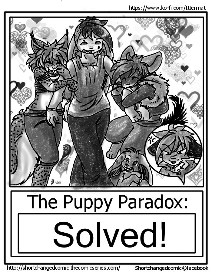 The Puppy Paradox Page 18- CHAPTER END