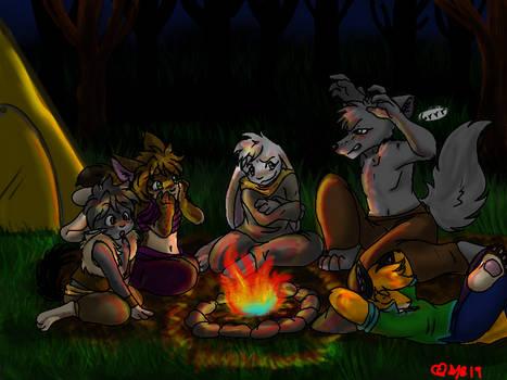 -Fireside funtime-