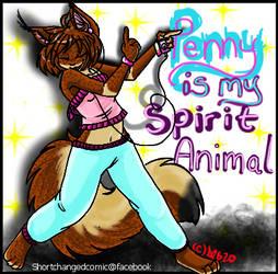 -Spirit animal Penny-