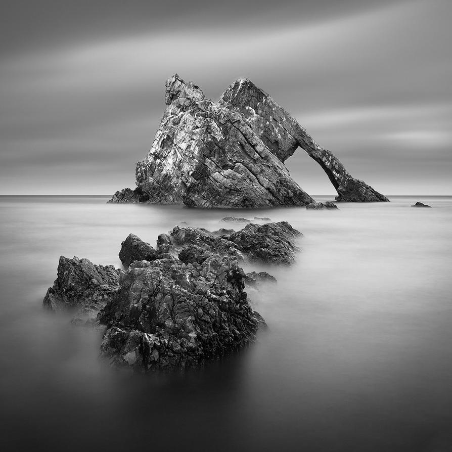 Magic bow square BW by marcopolo17
