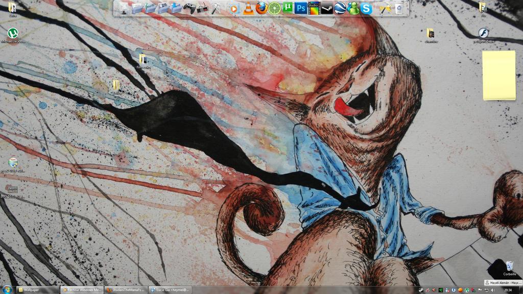 Keyboard Cat Desktop by oldspider26