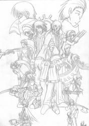 .hack+PERSONA3 GROUPIES by Natsumi-Chian