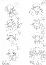 P3: neko chars 01 by Natsumi-Chian