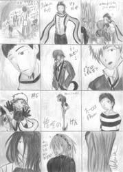 P3: doodles? 01 BandW by Natsumi-Chian