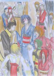P3: Kimono chars by Natsumi-Chian