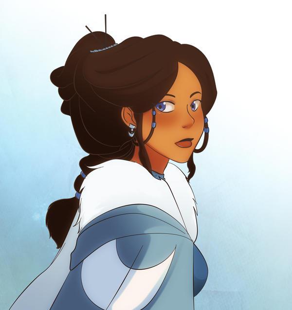 Avatar Aang With Hair: Katara By Gabzillaz On DeviantArt