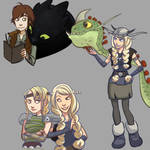 HTTYD sketches