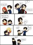 Dick Grayson wants a hug