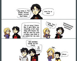 Tim Drake is a stud by gabzillaz