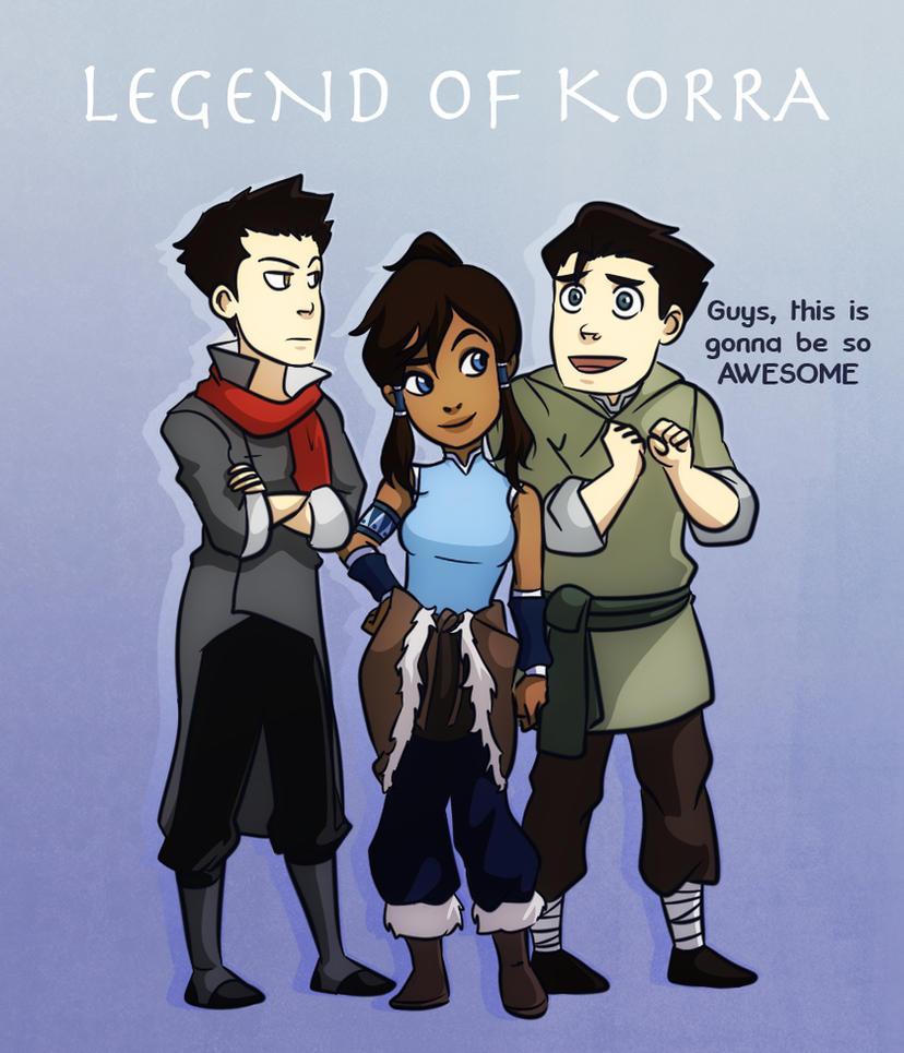 Team Korra by gabzillaz