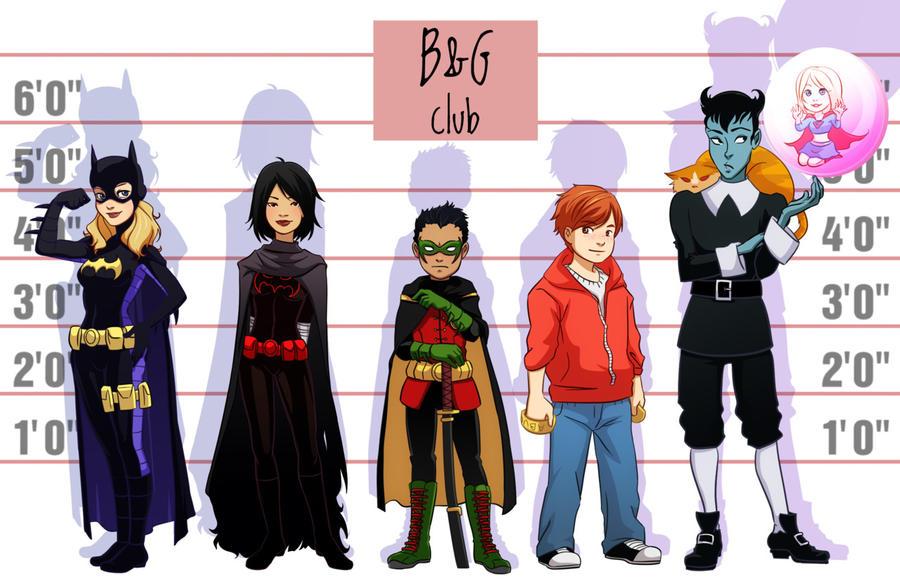 Gotham City Boys and Girls Club by gabzillaz