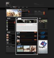 Team Timbo Gaming Layout by KiniArts