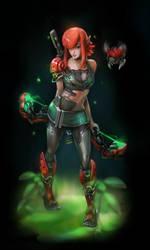 CyberElf Rin by moofart-moof