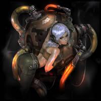 CyberCatIndustries Girl by moofart-moof