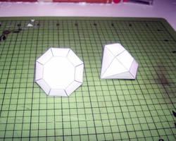 Diamond Papercraft Finished by Disease-of-Machinery