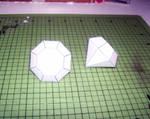 Diamond Papercraft Finished