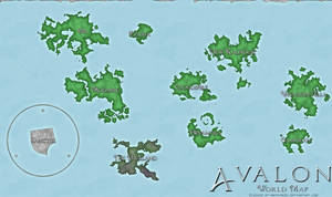 Avalon World Map